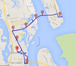 st aug route