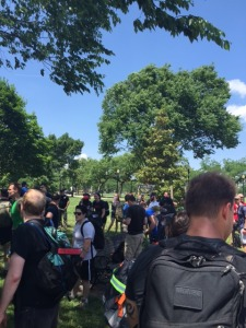 GRTs Gathering at GoRuck Ingress